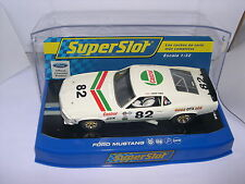 SUPERSLOT H3538 FORD MUSTANG 1969 BOSS  302 GTX  #82 JOHN HALL  SCALEXTRIC UK MB