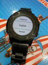 Garmin Fenix 5X Plus GPS Watch Black Metal Strap