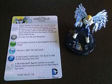 Cobalt Blue #055 SR The Flash Heroclix set with card super rare