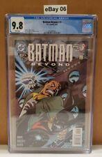Batman Beyond #2 (1999 Series) CGC 9.8 CERT 3712028004
