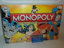 MONOPOLY DC COMICS DC ORIGINALS EDICIÓN HASBRO EN INGLESE NUEVO