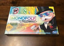 Monopoly for Millennials Board Game | BRAND NEW FACTORY SEALED Hasbro Millenials