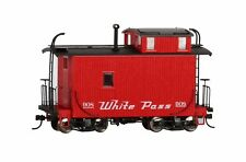 On30 - Bachmann - White Pass & Yukon 18' Off-Set Cupola Caboose