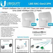 Ubiquiti LBE-5AC-Gen2 LiteBeam AC 2-PACK 5 GHz , Gen2 International Version