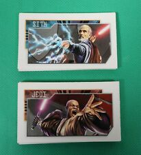 Star Wars Saga Edition Monopoly Jedi and Sith Community Chest Chance Cards