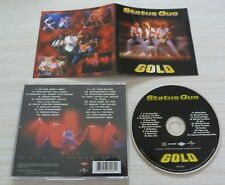 CD ALBUM BEST OF GOLD DIGITALLY REMASTERED STATUS QUO 21 TITRES 2001