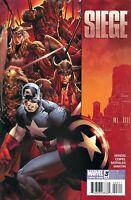 Siege #4 CVR A Marvel Comics 1st Print 2009 VF