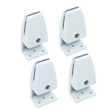 4x Desk Partition Clamp Office Shelf Bracket Desktop Screen Clip Holder Support