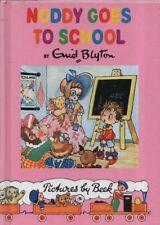 "ENID BLYTON - ""NODDY GOES TO SCHOOL"" - PICTURES BY BEEK - COLLINS HARDBACK(1996)"