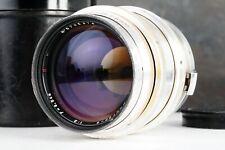 :Jupiter-9 85mm f2 Zeiss Sonnar Copy Russian Contax RF Mount Lens (Read)
