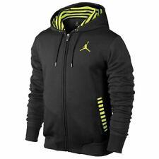 Jordan Mens Ajx Accomplished Full Zip Hoodie 589415-013
