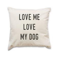 NUOVO - Love Me Love My CANE - alta qualità design cuscino - Idea regalo natale