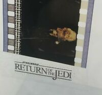 Vintage STAR WARS: RETURN of the JEDI Film Strip (5 Cells) STAR DESTROYER ATTACK