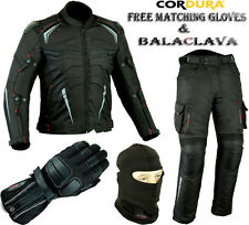 Tute in pelle e altri tessuti dui pezzi neri per motociclista Taglia XXXL