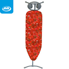 JML Expressions Fast Fit Elasticated Ironing Board Cover 139cm x 49cm Cherry Red