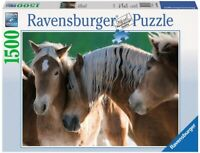 1500 TEILE PUZZLE, Haflinger Horses, RAVENSBURGER 16393