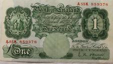 O'Brien England Note English Banknotes (Pre-1952)