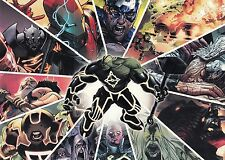 MARVEL UNIVERSE 2011 RITTENHOUSE ARCHIVES PROMO CARD SET SD1 TO SD9
