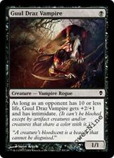 1 FOIL Guul Draz Vampire - Black Zendikar Mtg Magic Common 1x x1