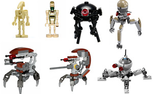 Lego Star Wars Droid Minifigures  YOU PICK 100% authentic Lego