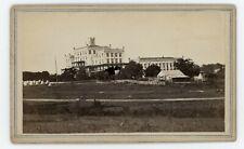 Civil War Baton Rouge CDV Deaf/Dumb Asylum as Hospital McPherson & Oliver c1863