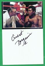 Ernest Borgnine  3x5 Pic/card Signed Auto Autograph the Greatest