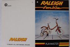 'Fun Bikes'  'Playmaster' Original Shop Display Tag c1980