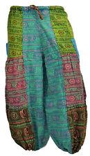 Harem baggy hip hop hippie aladdin boho trouser pantalon élastique été om unisexe