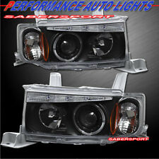 Set of Pair Black Halo Projector Headlights for 2004-2007 SCION xB