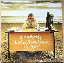 "DJ Fresh – Escape From Planet Monday LP 12"" Vinyl Record BBK003LP Drum & Bass"
