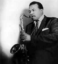 OLD MUSIC PHOTO Jazz Musician Gene Ammons Poses With His Saxophone 3