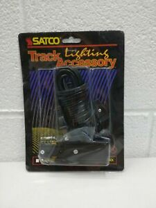 Satco Lighting Live End Cord Kit, Black - TP157 New in Sealed Package - Black