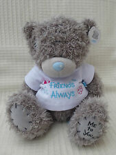 Me to You Tatty 8 inch teddy bear wearing a t-shirt 'Friends Always' thereon