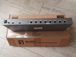 LevelOne HDMI Splitter 1 zu 9 über Cat.5 Kabel mit 8 Empfänger