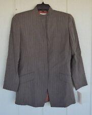 NWT EMANUEL UNGARO 4 38 Gray Wool Jacket Blazer Lined