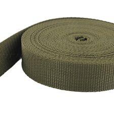10m PP Gurtband türkis UV 25mm breit 1,4mm stark