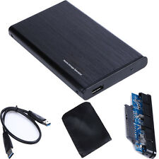 """2.5"""" Inch USB 3.0 to SATA Hard Drive External Enclosure HD HDD Mobile Disk Case"""