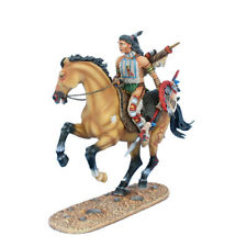 WW020 Mounted Cheyenne Indian with Spear by First Legion