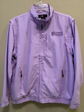 Ladies Golf Jacket  zip closure never worn lightweight size M color Lavender