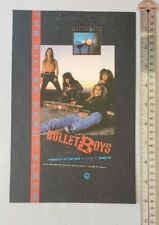 Bulletboys Band Rare Print Advertisement