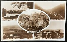 Donegal Multiview Town Barnsmore Postcard Co Donegal Ireland.
