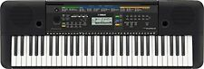 Yamaha 61 Key Full Sized Portable Keyboard with Aux Line Input, Black  PSRE253