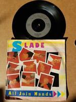 """Slade-All Join Hands-Vinyl,7"""",45 RPM,Single-Sammlung Rock UK 1984"""