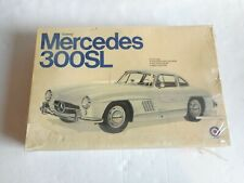 Vintage Entex Gullwing Mercedes 300SL Model Kit #9019 Big 1/16 Factory Sealed