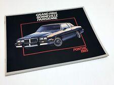 1985 Pontiac Grand Prix Bonneville Parisienne Brochure