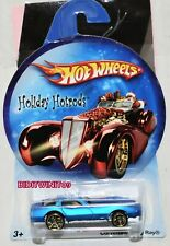 HOT WHEELS HOLIDAY HOTRODS CORVETTE STING RAY BLUE W+