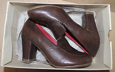 """Ladies Shoes - Hush Puppies - Marilyn - Dark Brown - 7 - 3.5"""" Heel - BNIB / New"""