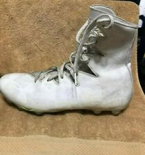 Under Armour Highlight Mc Lacrosse Cleats White Size 10.5