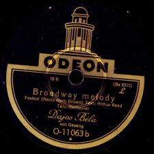 DAJOS BELA Broadway Melody / The wedding of the painted..  Schellackplatte S1929