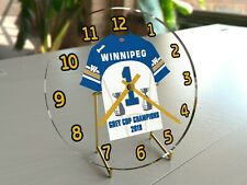 CFL Football - Canadian Football League Desktop Clocks - Free Customization !!!!